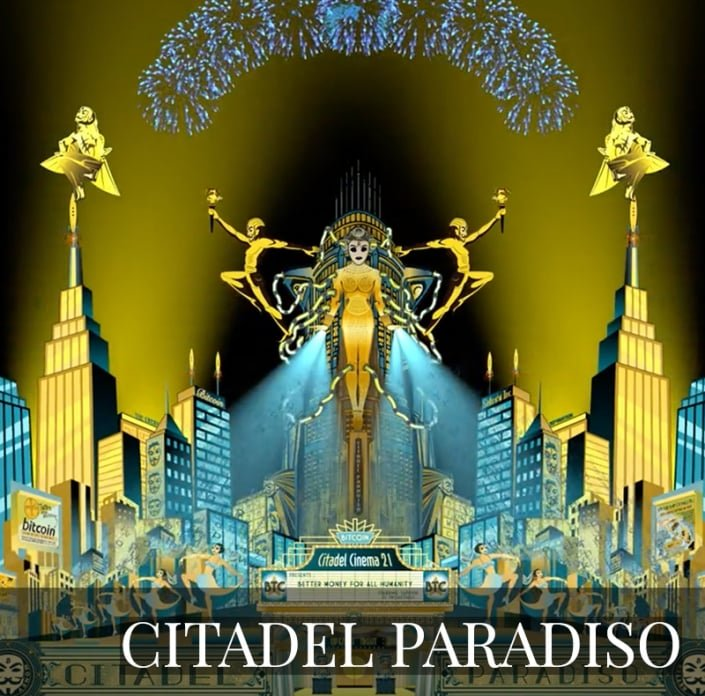 NFT - Citadel Paradiso by Lucho Poletti