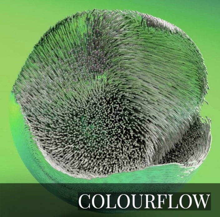 NFT - COLOURFLOW 2.0 by David McLeod