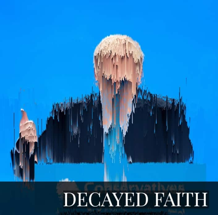 NFT - DECAYED FAITH by Benjamin Wareing