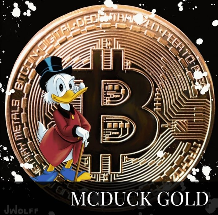 NFT - Scrooge McDuck Gold Edition Jeremy Wolff