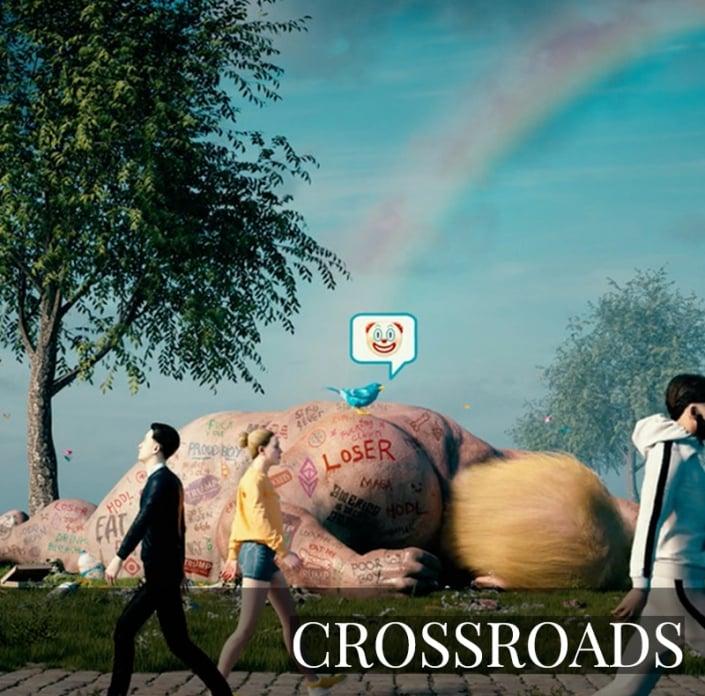 NFT - CROSSROADS by Beeple
