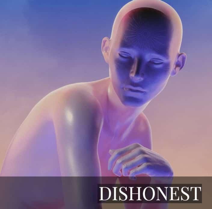 NFT - DISHONEST by aeforia