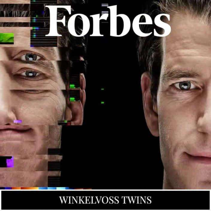 Winklevoss Twins Forbes NFT