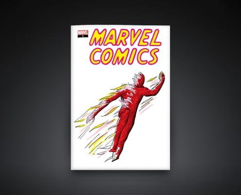 Marvel Comic #1 NFT